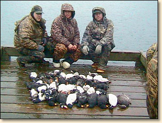 sea duck hunting